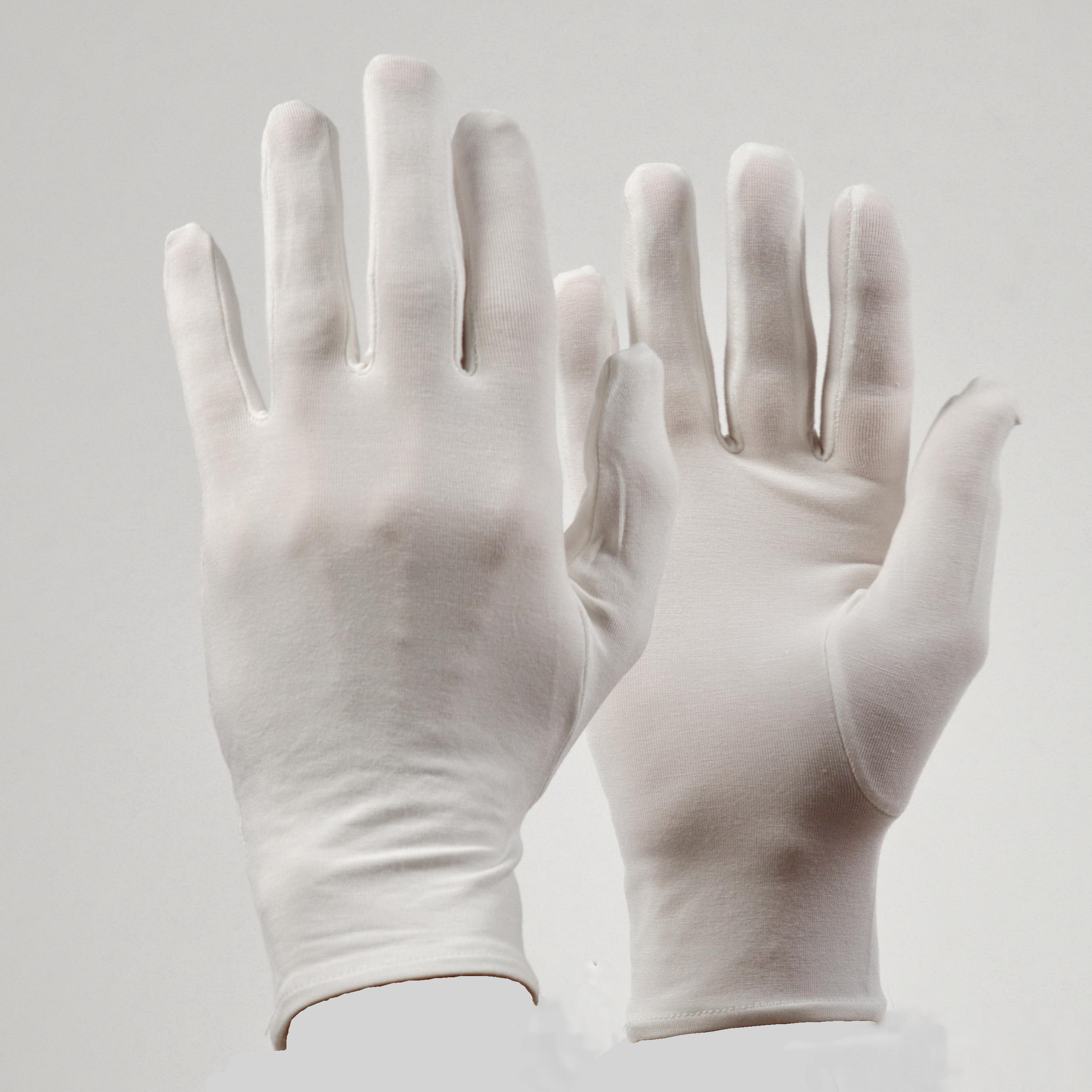 Bamboe Premium handschoenen kinderen kleur ecru