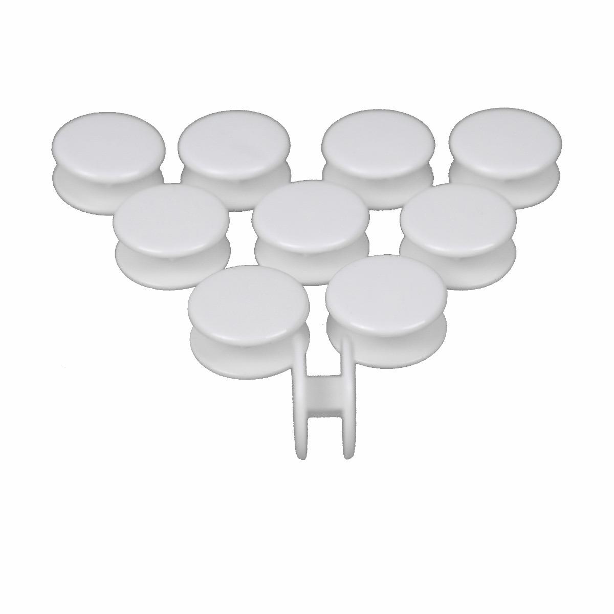 Extra set 10 stuks verbindingsknopjes voor Cocoon, Bamboe en Wildzijde dekbedden