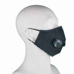 Ultra-Fijnstof mondkapje / masker > Fijnstof mondkapje Black Sports incl. 2x active koolstof filter