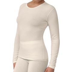 Vrouwen shirt lange mouw > Sanamedi -Zink eczeemkleding vrouwen shirt lange mouw