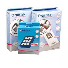 Nilfisk Elite serie > Nilfisk ELITE voordeel set 8x stofzak + 2x voorfilter + 1x HEPA14 filter