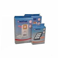 Nilfisk SELECT voordeel set 8x stofzak +2x voorfilter + HEPA14 filter