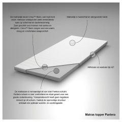 Toppermatras Pantera > Topper Pantera 1-Persoons