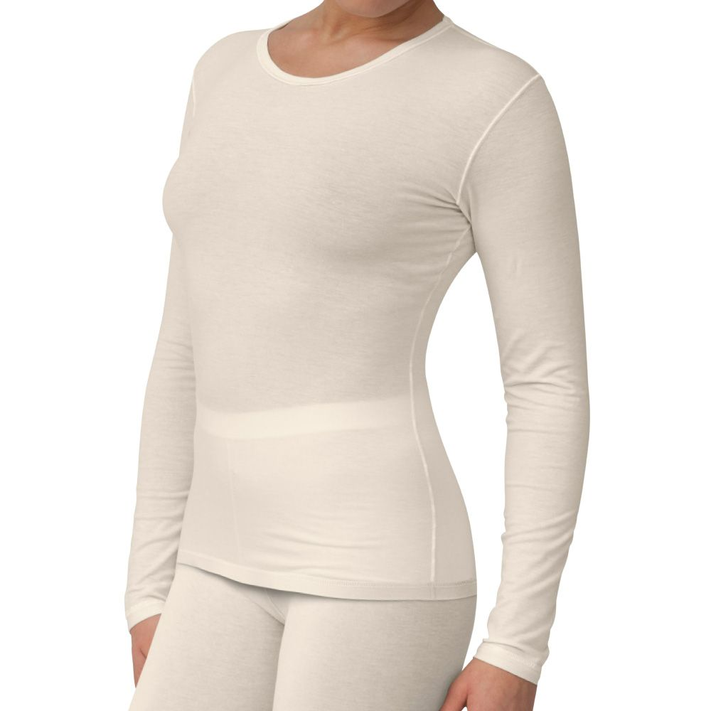 Sanamedi -Zink eczeemkleding vrouwen shirt lange mouw-M (40/42)