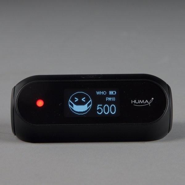 HUMA-i Black HI-150 PM2,5/ PM10/ VOC/ CO₂/ luchtvochtigheid