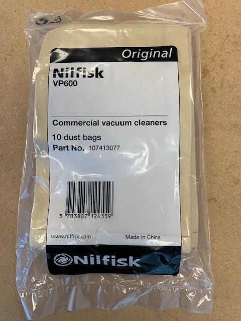 Nilfisk stofzakken VP600 family (10 stuks)